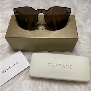 Authentic mirrored Versace sunglasses